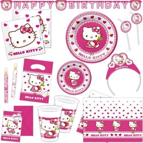 Párty set Hello Kitty