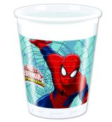 Spiderman kelímky 8 ks, 200 ml