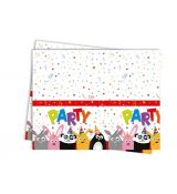 ZOO PARTY ubrus, 120 cm x 180 cm