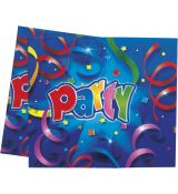 PARTY STREAMERS ubrus, 120 cm x 180 cm
