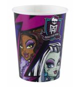 Monster High kelímky 8 ks, 266 ml